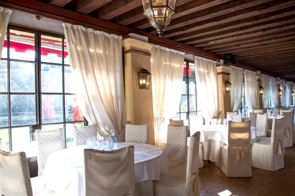 Sala in stile per matrimoni, cene aziendali e feste. Villa Damiani, Bassano del Grappa, Vicenza