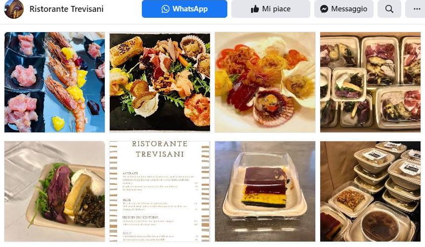 Segui la nostra pagina Facebook. Ristorante Trevisani a Bassano, Vicenza
